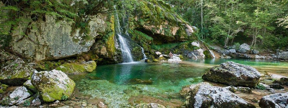 e25 aat virje waterval vakantie slovenië julische alpen alpe adria trail etappe 25
