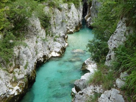 e25 aat soca rivier vakantie slovenië julische alpen alpe adria trail etappe 25