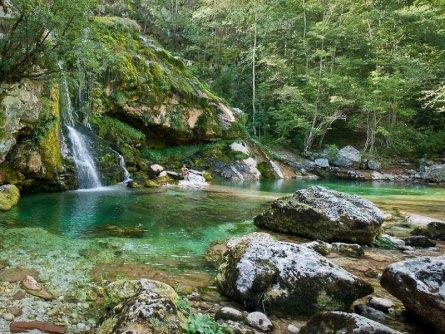 e25 aat virje waterval vakantie slovenië julische alpen alpe adria trail