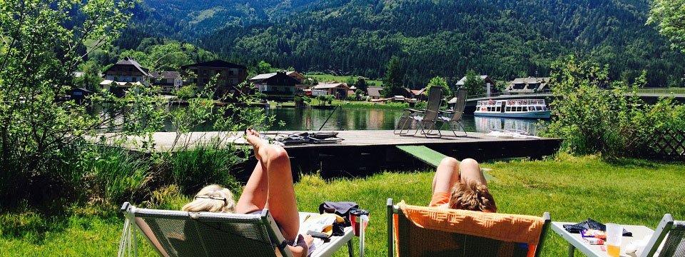 hotel moser techendorf weissensee karinthie zomer