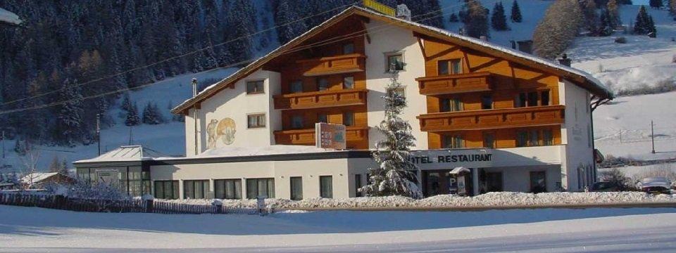 hotel bergblick winter nauders tirol oostenrijk
