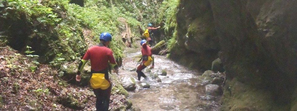 canyoning actieve vakantie familie val di sole wandelen kinderen vakantie italie italiaanse alpen  (4)