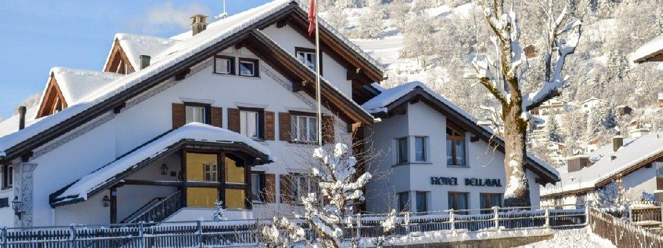 hotel bellaval laax graubünden vakantie zwisterland zwitserse alpen (1)