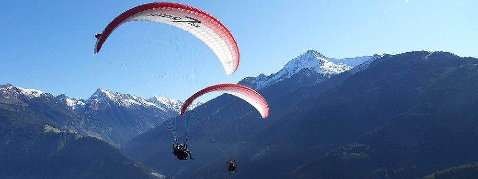 tandem paragliding in het zillertal tirol mayrhofen fuegen vakantie oostenrijk oostenrijkse alpen activiteit (18)