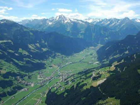 tandem paragliding in het zillertal tirol mayrhofen fuegen vakantie oostenrijk oostenrijkse alpen activiteit (10)
