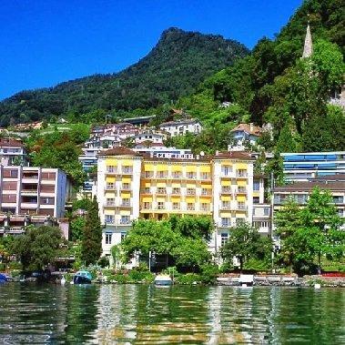 hotel rené capt montreux zwitserland meer van genève vakantie zwitserse alpen