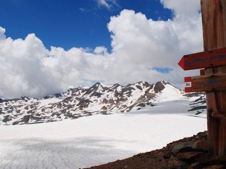 stelvio national park trail dolomiti huttentocht italië vakantie italiaanse alpen careser glacier from bocca di saent (1)