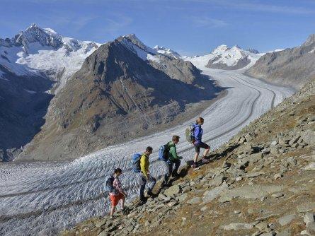 actieve vakantie gletsjertrekkings aletsch gletsjer trekking vakantie zwitserland (28)