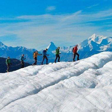 actieve vakantie gletsjertrekkings aletsch gletsjer trekking vakantie zwitserland