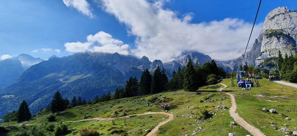 meer van molveno trentino italiaanse alpen italie (6)