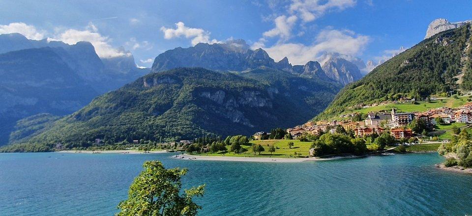 meer van molveno trentino italiaanse alpen italie (3)