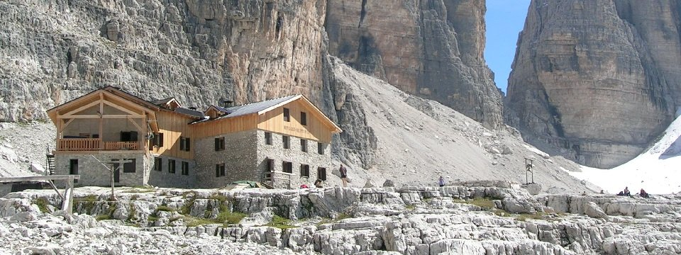 brenta dolomiti trail huttentocht dolomieten val di sole actieve vakantie italie italiaanse alpen rifugio alimonta berghut