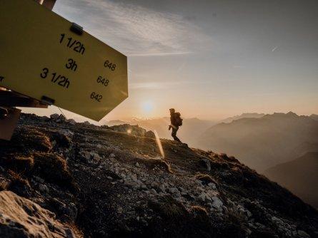 lynx trail meerdaagse wandeltocht oostenrijk oostenrijkse alpen etappe 7 der tamischbachturm eine willkommene draufgabe