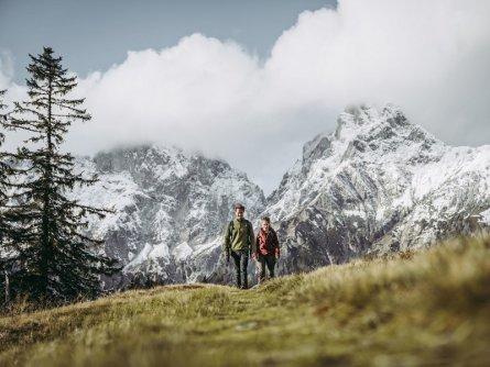 lynx trail meerdaagse wandeltocht oostenrijk oostenrijkse alpen etappe 5 sparafeld und reichenstein
