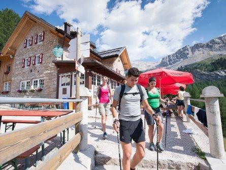 huttentocht val di fassa dolomieten trentino italiaanse alpen wandeltocht14