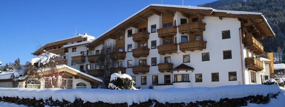 hotel bichlingerhof westendorf tirol winter achterzijde