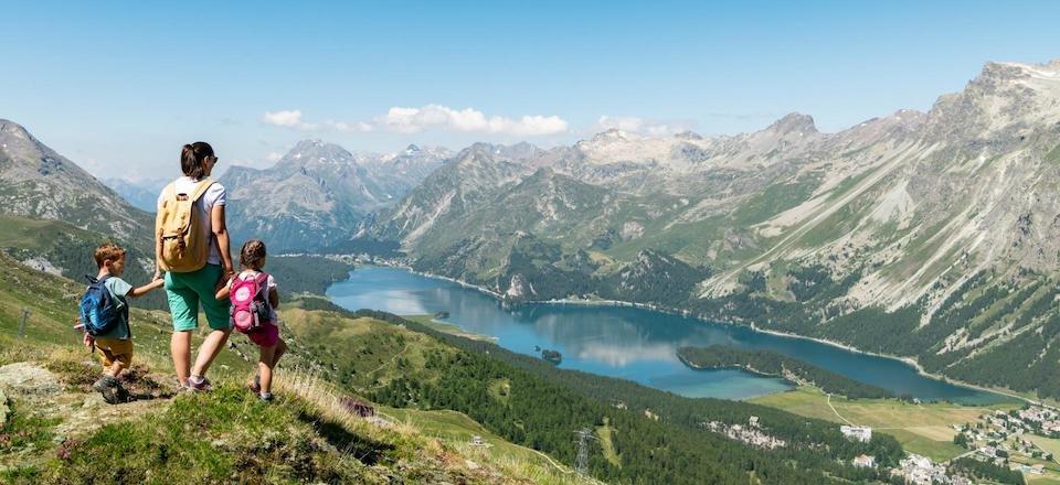 silvanaplana wandelparadijs families met kinderen engadin graubunden zwitserse alpen zwitserland tourismusverband silvanaplana