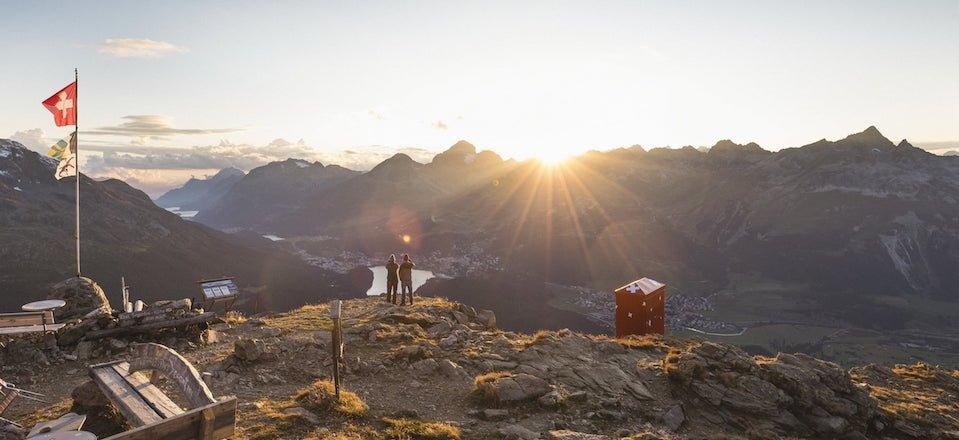 wandelen engadin graubunden zwitserland tourismus engadin