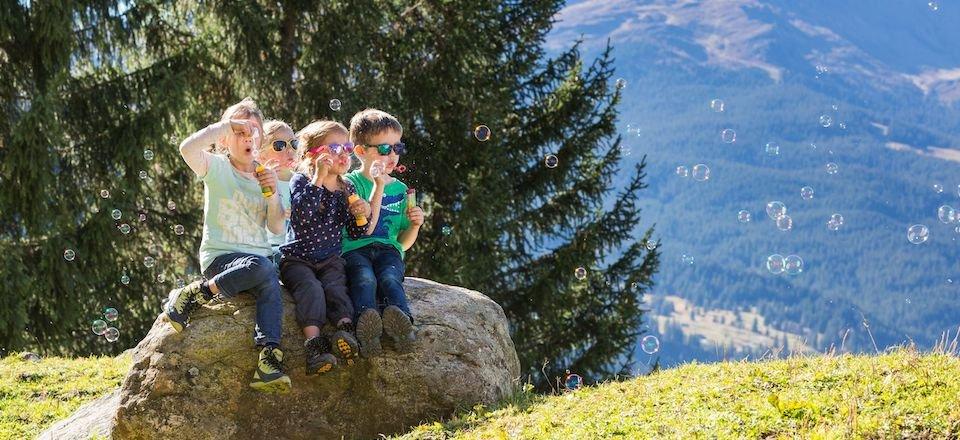 families met kinderen jungfrauregion berner oberland zwitserland tourismus wengen