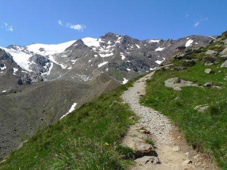 huttentocht stelvio national park italie rifugio larcher 1