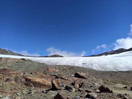 huttentocht stelvio national park glacier italie careser glacier