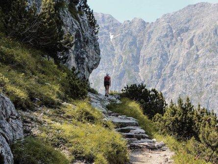 huttentocht brenta dolomieten trentino italie sentiero bogani   to rifugio brentei