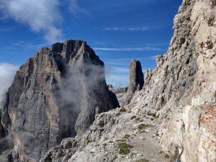 huttentocht brenta dolomieten trentino italie end of bocchette centrali 2