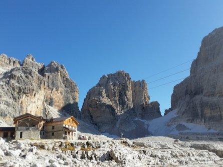 huttentocht brenta dolomieten trentino italie rifugio alimonta
