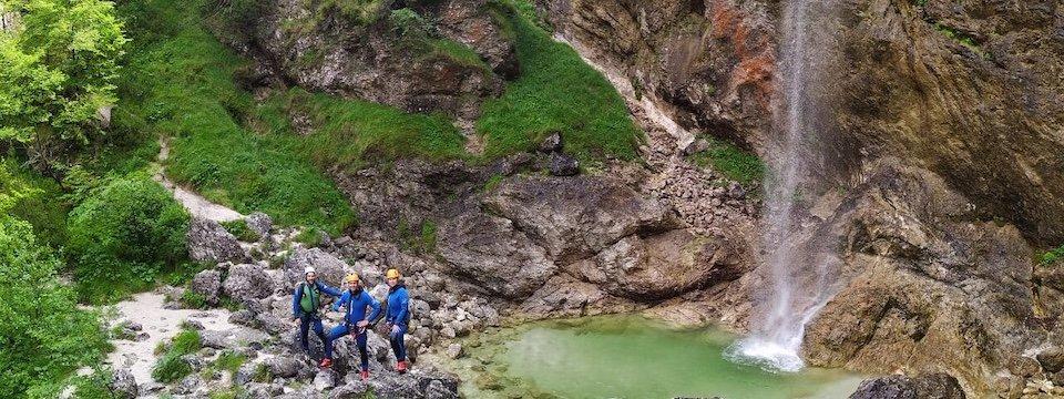 outdoor active bovec outdoorvakantie slovenie outdoorparadijs julische alpen canyoning fratarica