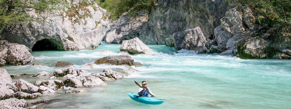 outdoor active bovec outdoorvakantie slovenie outdoorparadijs julische alpen kayaking 3