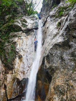 outdoor active bovec outdoorvakantie slovenie outdoorparadijs julische alpen canyoning fratarica 3