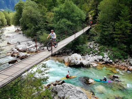 outdoor active bovec outdoorvakantie slovenie outdoorparadijs julische alpen e mountainbike tour