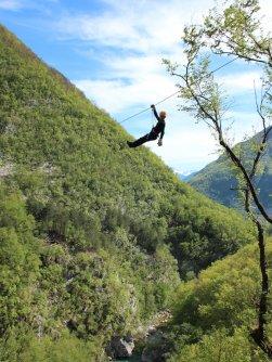 family outdoor active bovec outdoorvakantie slovenie outdoorparadijs julische alpen ziplining 2
