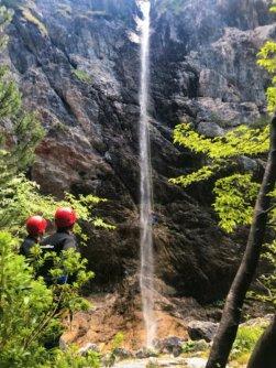outdoor active bovec outdoorvakantie slovenie outdoorparadijs julische alpen canyoning fratarica 2