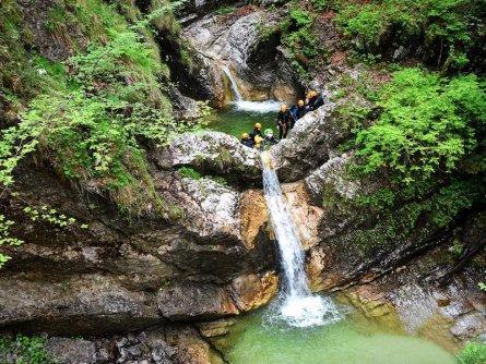 outdoor active bovec outdoorvakantie slovenie outdoorparadijs julische alpen canyoning fratarica 10