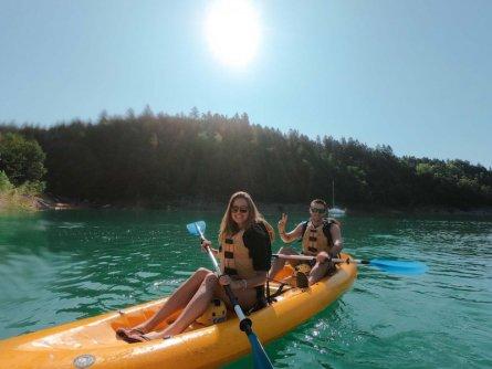 family active val di sole avontuurlijke gezinsvakantie trentino italie canoeing rio novella gorges 5