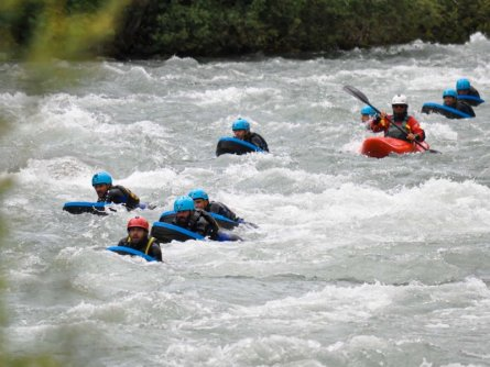 outdoor active val di sole outdoorvakantie trentino italie hydrospeed
