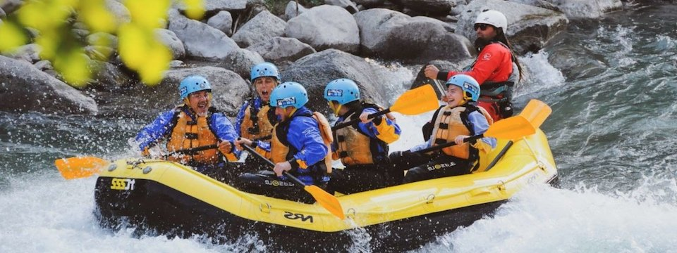 outdoor active val di sole outdoorvakantie trentino italie rafting extra