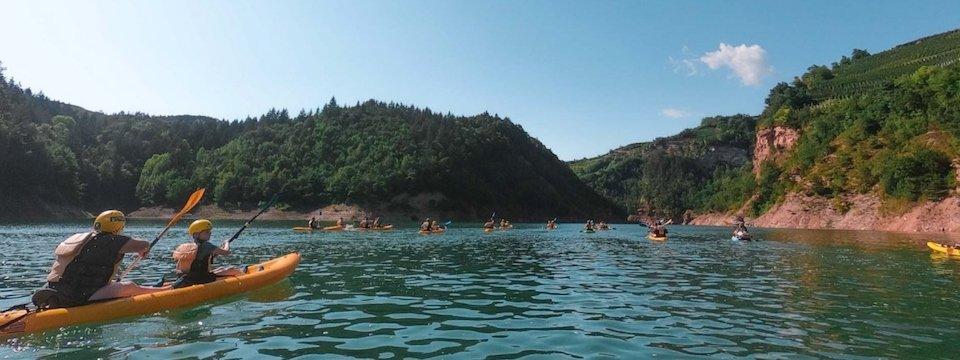 family active val di sole avontuurlijke gezinsvakantie trentino italie canoeing rio novella gorges 6