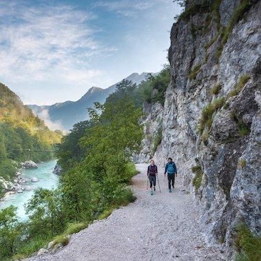slovenia friuli trail alpe adria trail stage 26 kobarid dolina soca pohodništvo, kobarid, jošt gantar 3