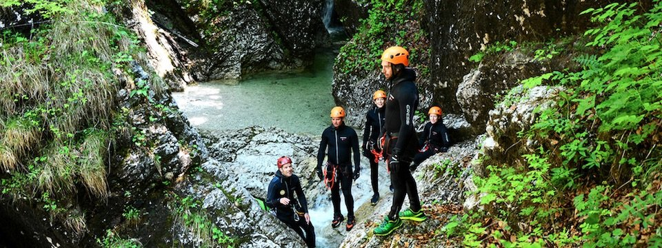 family active bled actieve gezinsvakantie slovenie julische alpen canyoning jereka 2