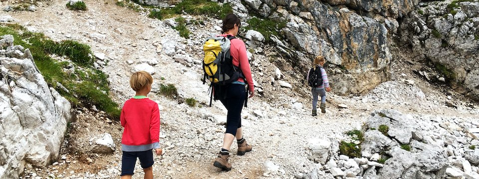family active bled actieve gezinsvakantie slovenie julische alpen hiking wandelen