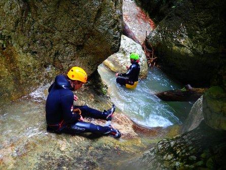 family active bled actieve gezinsvakantie slovenie julische alpen canyoning jereka 6