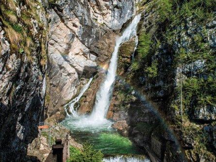 family active bled actieve gezinsvakantie slovenie julische alpen wandeltocht waterval slap savica mojca odar