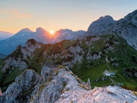 huttentocht ennstaler alpen gesause runde etappe 5 haindlkarhütte admonterhaus sonnenuntergang admonter warte 1