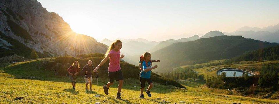 family active nassfeld karinthië avontuurlijke gezinsvakantie oostenrijk alpen wandeltocht 2
