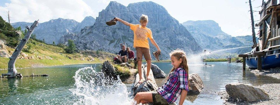 family active nassfeld karinthië avontuurlijke gezinsvakantie oostenrijk alpen wandeltocht aquatrail daniel zupanc 2