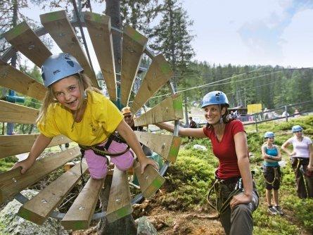 family active nassfeld karinthië avontuurlijke gezinsvakantie oostenrijk alpen avontuurlijk klimpark nassfeld premium plus card holiday 2
