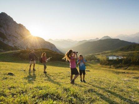 family active nassfeld karinthië avontuurlijke gezinsvakantie oostenrijk alpen wandeltocht 3