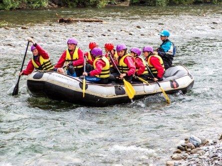 family active nassfeld karinthië avontuurlijke gezinsvakantie oostenrijk alpen rafting 2